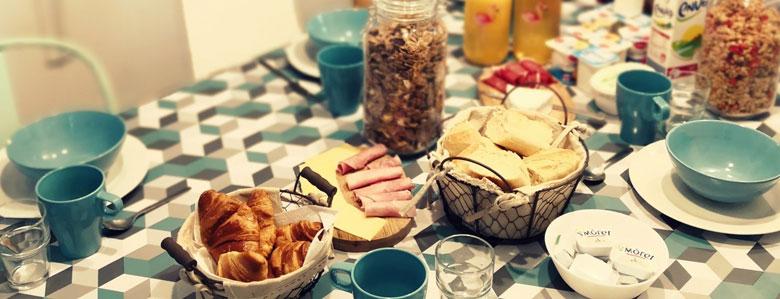 petit déjeuner délicieux