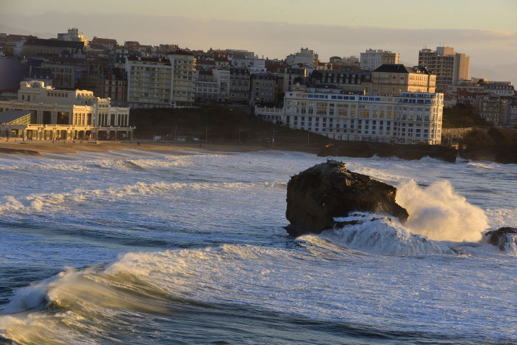 spots de surf grande plage